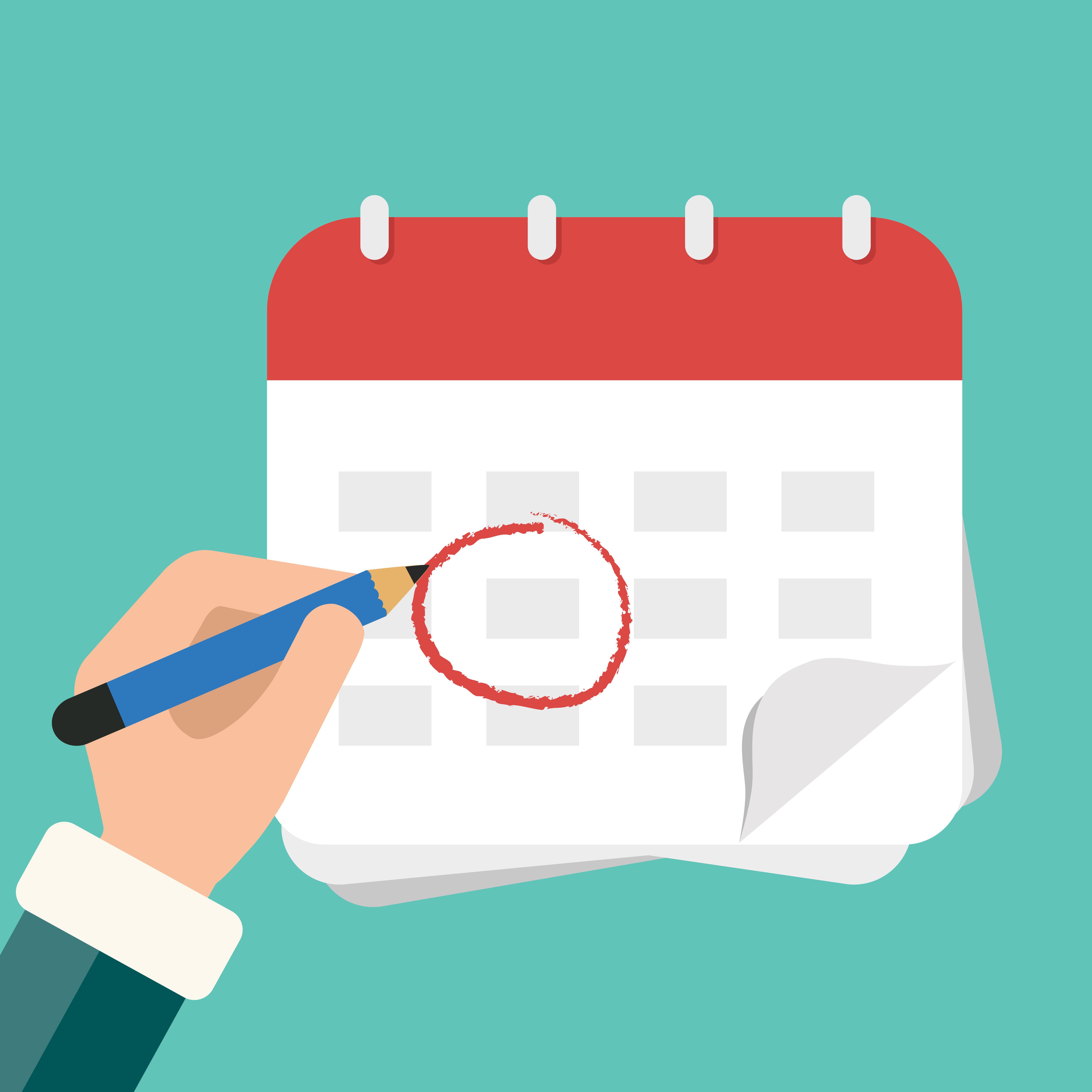 Calendário e Horários 2019.2